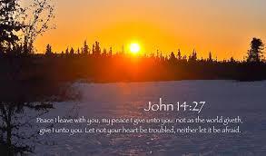peace john 14 27