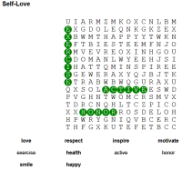 word search love